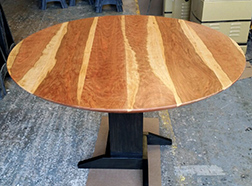 Custom bar height round table