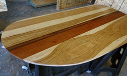 Custom shape Murphy table top