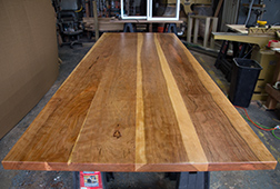 Custom sized cherry table top