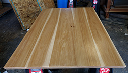 Pecan hickory dining table