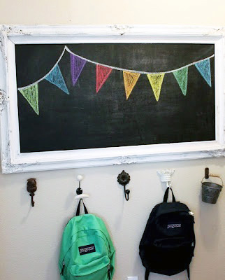 Backpack Station Chalkboard