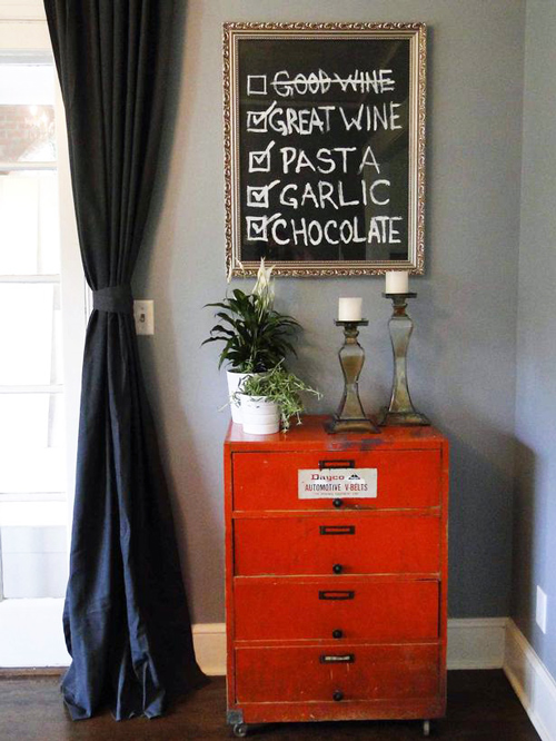 Home Decor Chalkboard