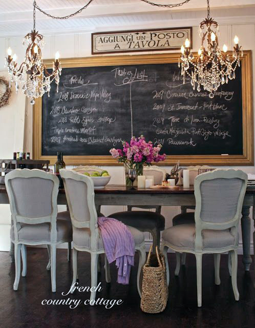 Large Chalkboard For Restaurant Or Dining Room