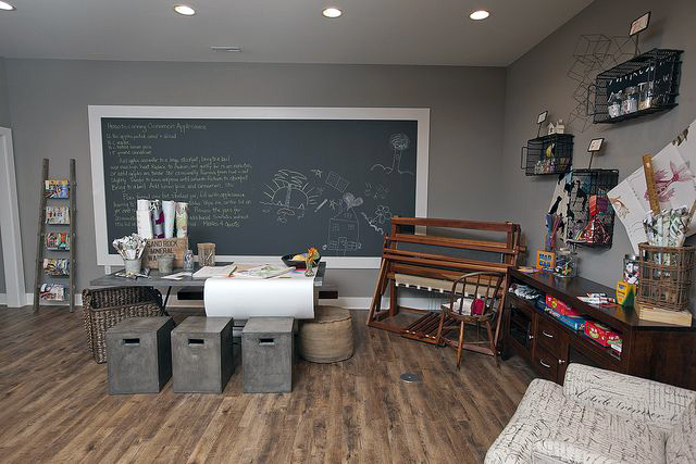 Giant Chalkboard For Study Room
