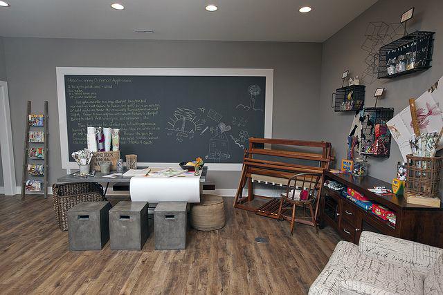 Giant Chalkboard For Study Room