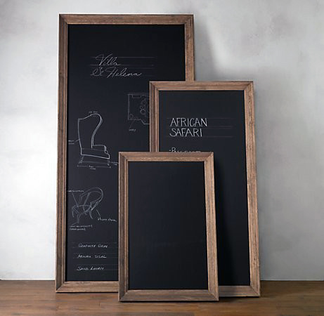 Custom Leaner Chalkboards