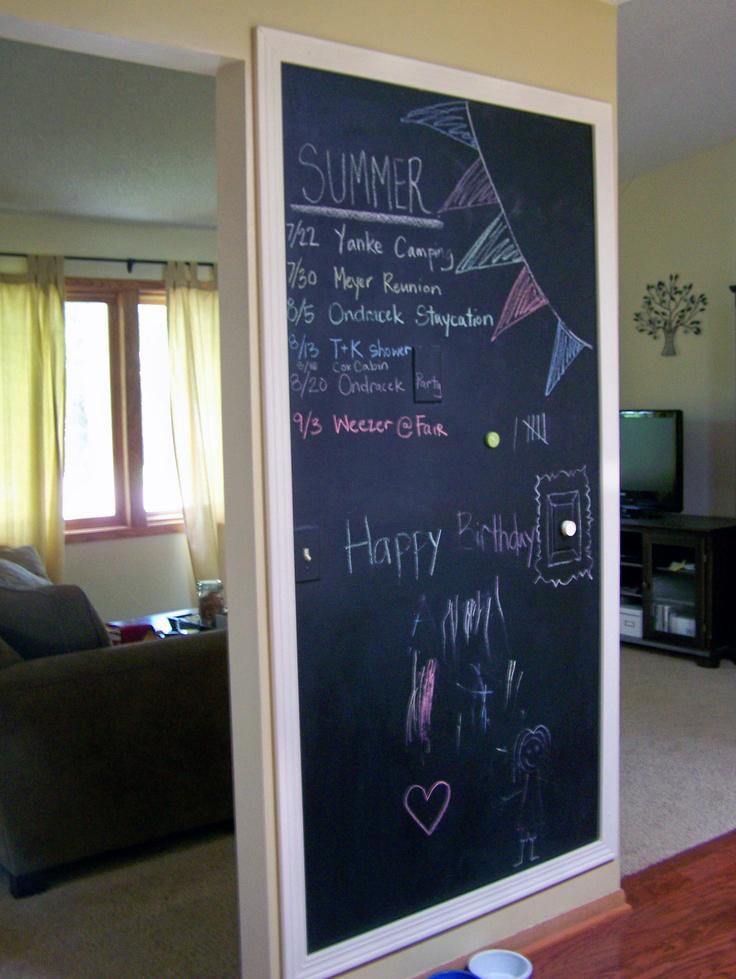 74 X 39 Large Framed Chalkboard Mirrorlot