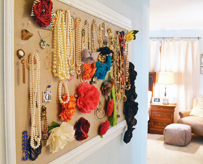 Corkboard For Jewelry