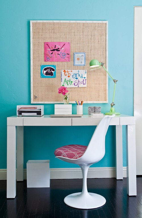 Kids Study Room Corkboard