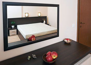 Custom Size Wall Mirror For Bedroom