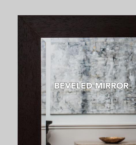 Large Custom Sized and Custom Framed Mirrors, Bathroom Mirrors ...