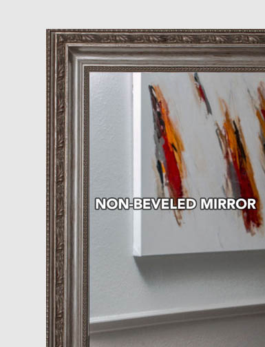 Mal 0576 gold silver framed mirror large mirror for Custom size mirrors bathrooms