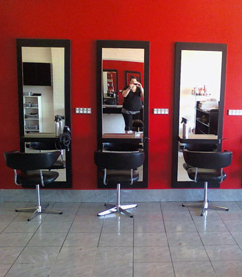 Full length mirrors for salons