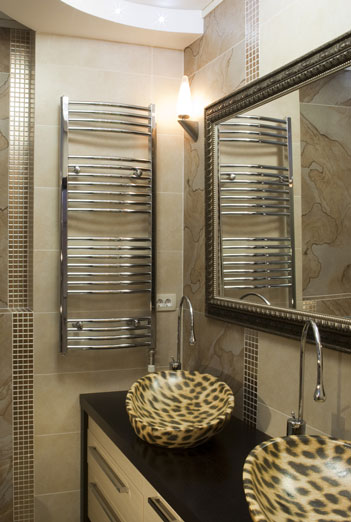 Large custom size bathroom mirror