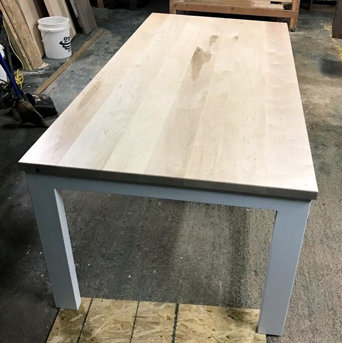 Enjoyable Sedona Dt 90264 Tl 80058 Natural Maple Table In Uwap Interior Chair Design Uwaporg