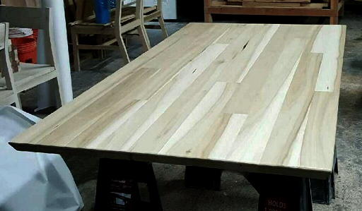 Lima Custom Sized Table Top Natural Poplar