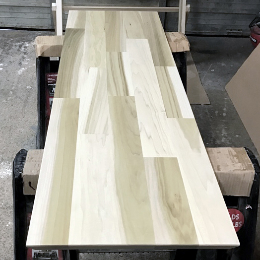Photos Of Solid Wood Poplar With Clear Finish Tables And Tabletops