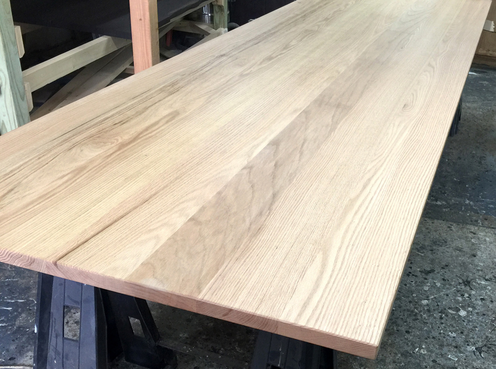 Clemson Custom Sized Table Top Natural Red Oak
