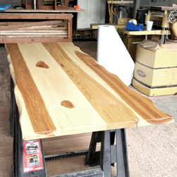 Hudson Table - Pecan hickory table top