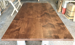 Florence Table - Large 108x48 rustic alder table top