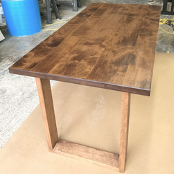 Florence Table - Small alder table top and base