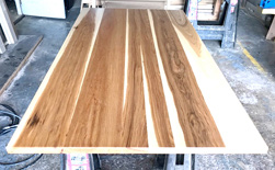 Austin Table - Pecan hickory table top