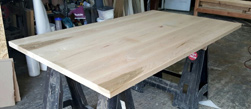 Sedona Table - Maple table top with simple clear finish