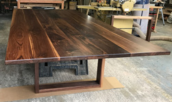 Victoria Table - Another large 12 foot walnut table and base