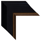 Black Brown Framed Mirrors