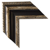 Gold Brown Framed Mirrors