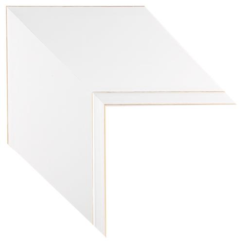 Mal 0552 White Framed Mirror Large Mirror Bathroom