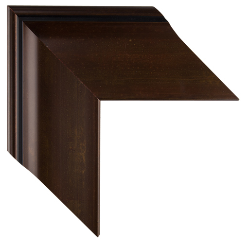 Mal 0582 brown framed mirror large mirror bathroom for Wide framed mirror