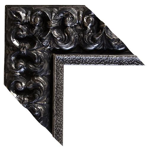 Black Silver Framed Corkboard Custom Size Cork Board