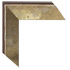 textured and luminescent soft gold with highlights of silver and bronze mirror frame
