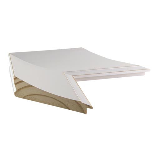 White Framed Corkboard Custom Size Cork Board Custom