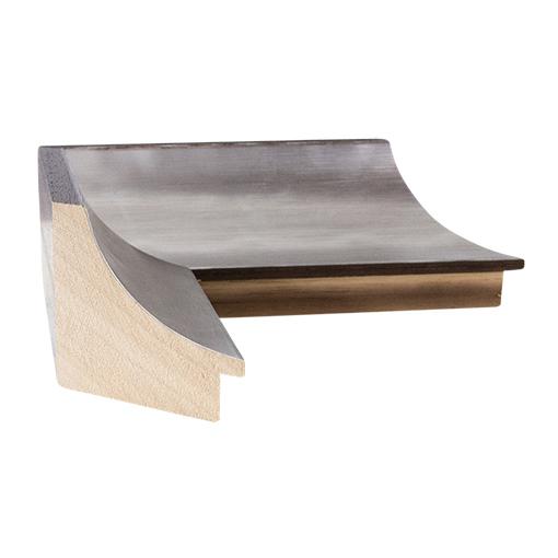 Silver Brown Framed Corkboard Custom Size Cork Board