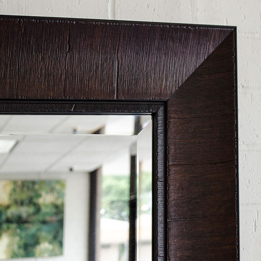 custom sized custom framed mirrors